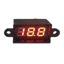 Imperméable 0.28 Mini Numérique LED Voltmètre Voltmètre 12V Voiture Plage Moteur Dc 3.50-30.0V Automatique Électrique Tension Ampèremètre