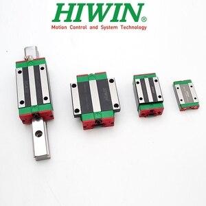 Image 2 - Originale HIWIN blocco di guida lineare carrozza HGH HGW EGH 15 20 25 30 35 CA CC MGN 7 9 12 15 C H per HGR EGR MGNR lineari della guida di CNC