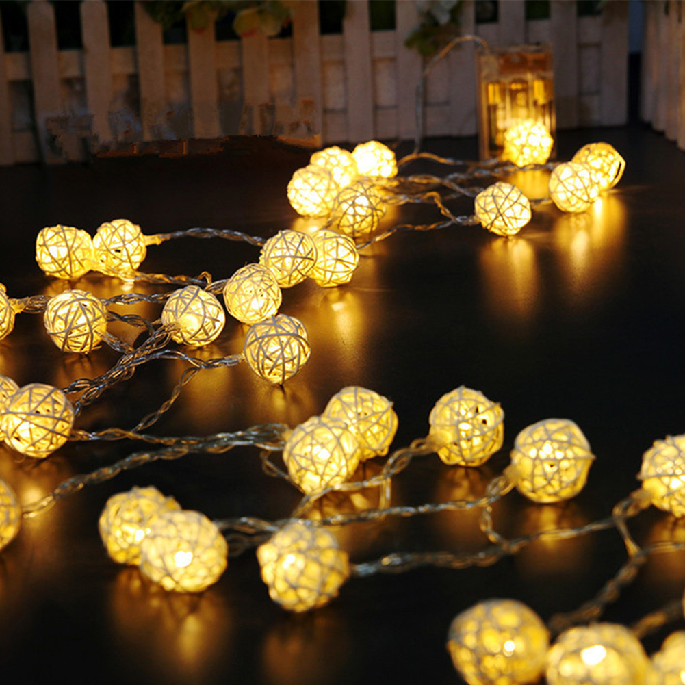 Wedding Fairy Pathway Battery Powered Outdoor Garden Party Led Bar Home Decor Balcony Bedroom String Light
