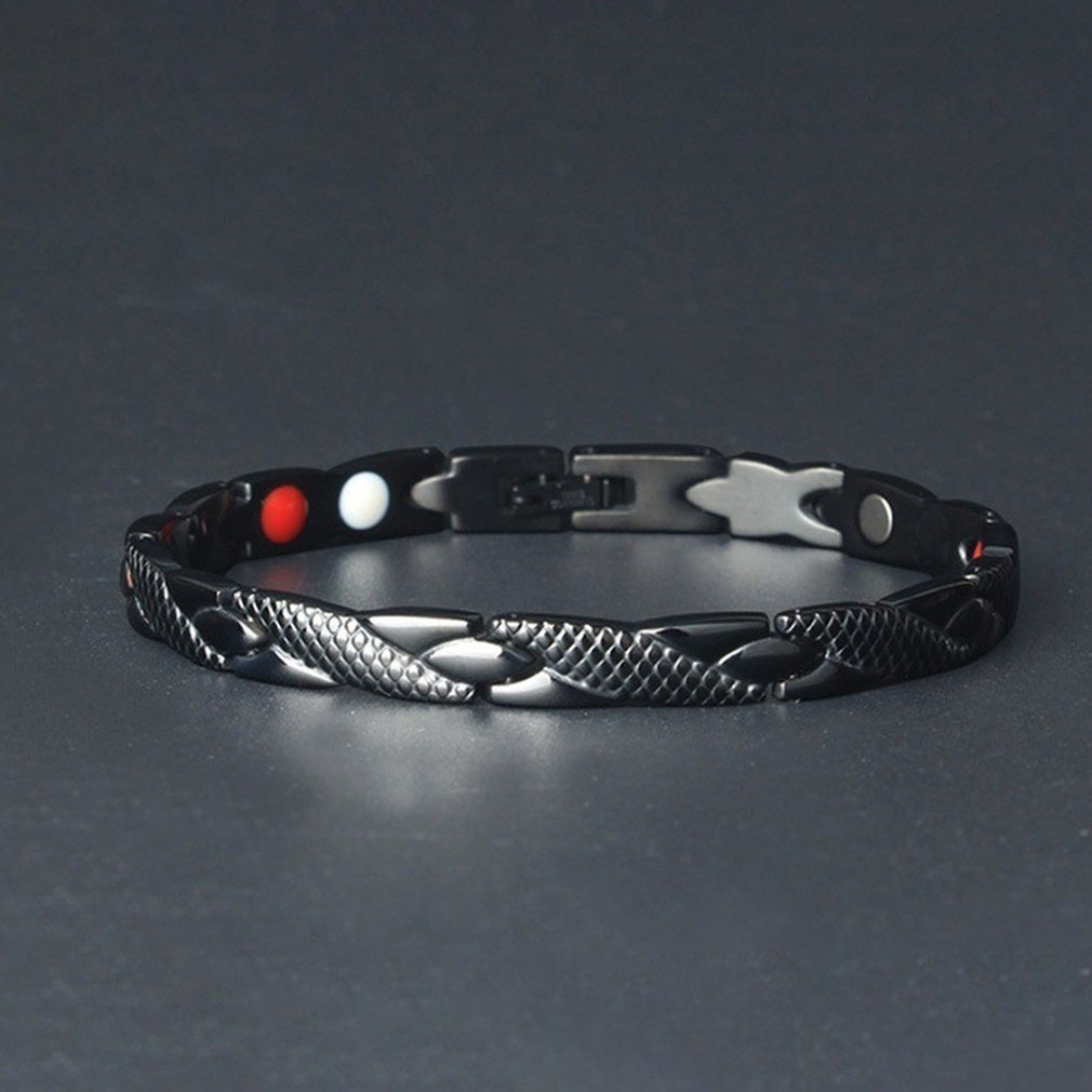 2020 New Dragon Pattern Twisted Healthy Magnetic Magnet Bracelet for Women Power Therapy Magnets Bracelets Bangles for Women Men