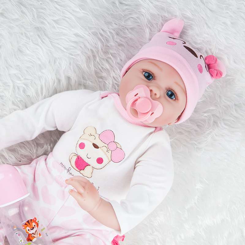 Obe Model Infant Silica Gel Reborn Baby Doll Hot Selling Recommended 55 Cm