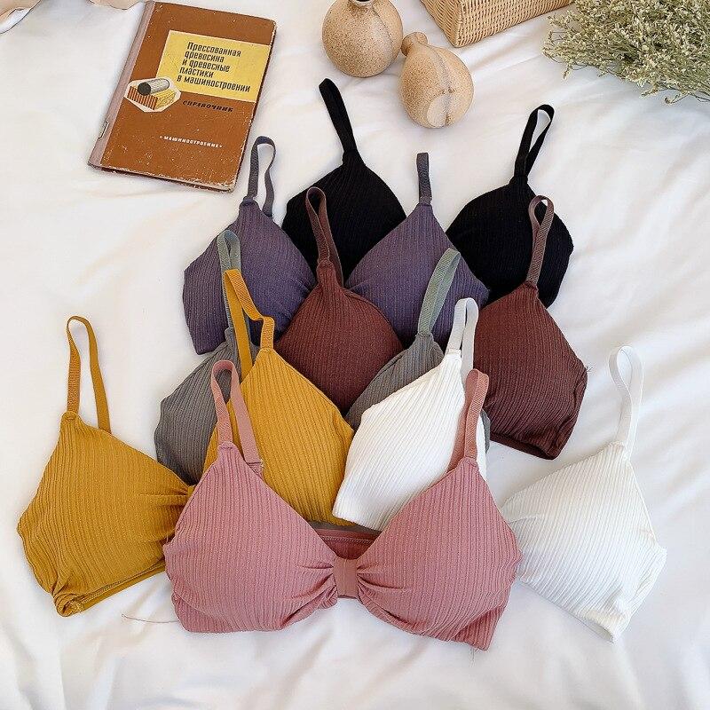 Sexy Bra Push Up Bras For Women Bralette Sexy Lingerie Triangle Cup Underwear Soft Padded Bra Brassiere Bh