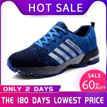 47 48 Popular Men's Casual Breathable Running Shoes Rubber Large Size S