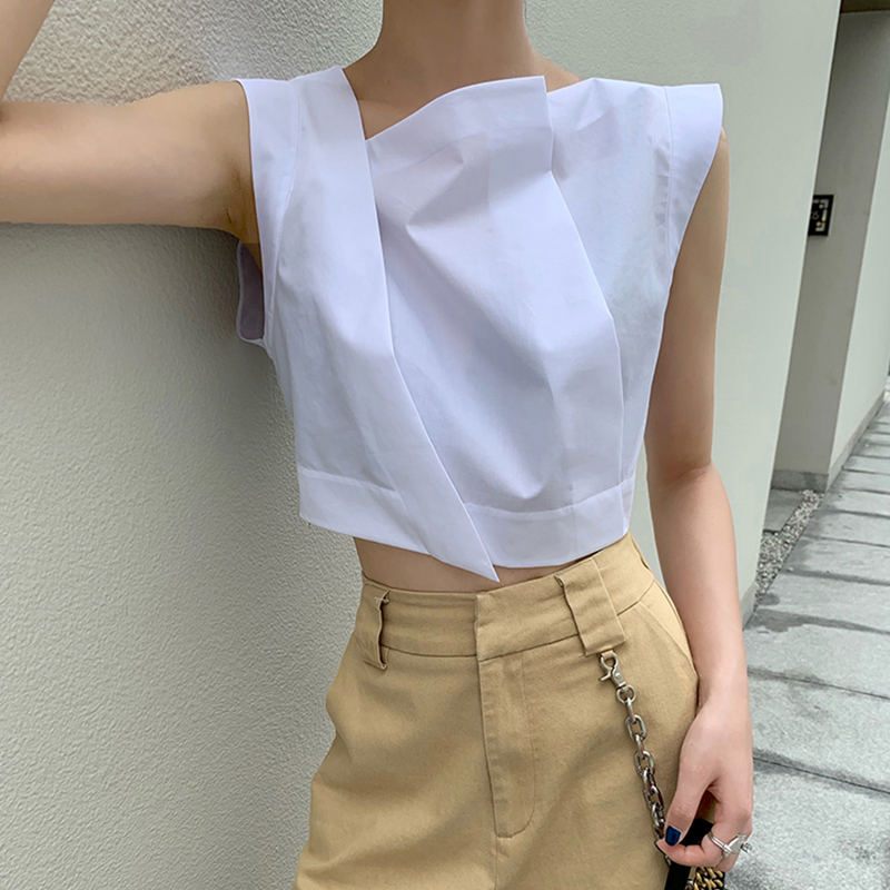 Collar Shirt Blouses TWOTWINSTYLE
