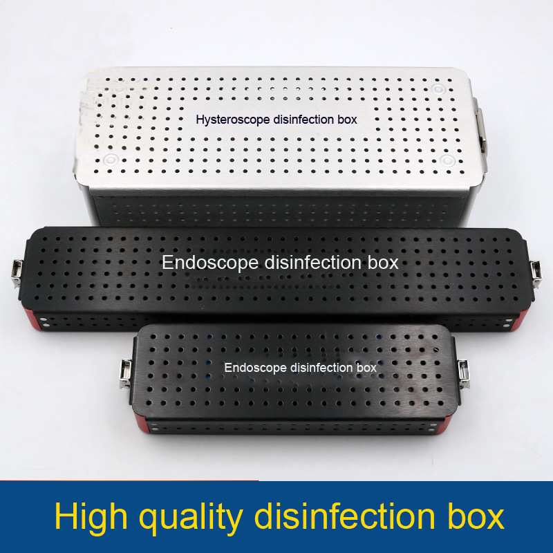 New Ophthalmic microsurgical instruments Surgical Autoclavable Surgery Silicone disinfection box SML size