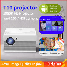 1080P LED Projector Full HD 1080P Proyector HDMI-Compatible Native 1920x1080P 3D Home Theater Andriod System Projector