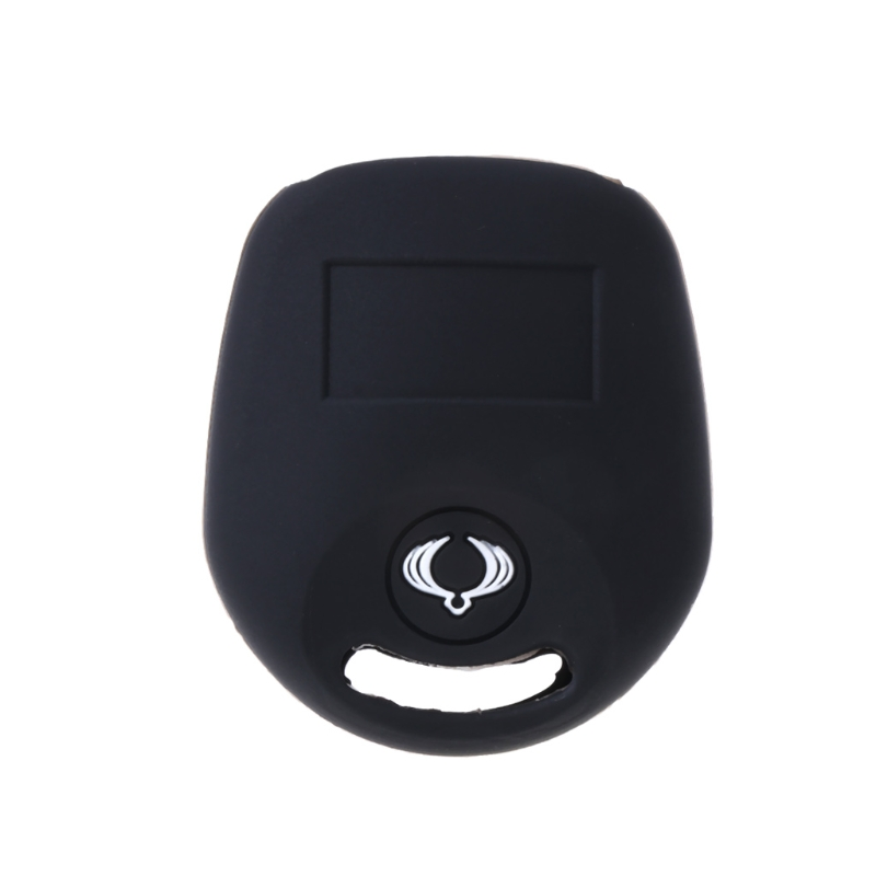 Car-styling 2 Buttons Silicone Car Key Fob Cover Case For SSANGYONG ACTYON KYRON REXTON 2 dropshipping for car accessories