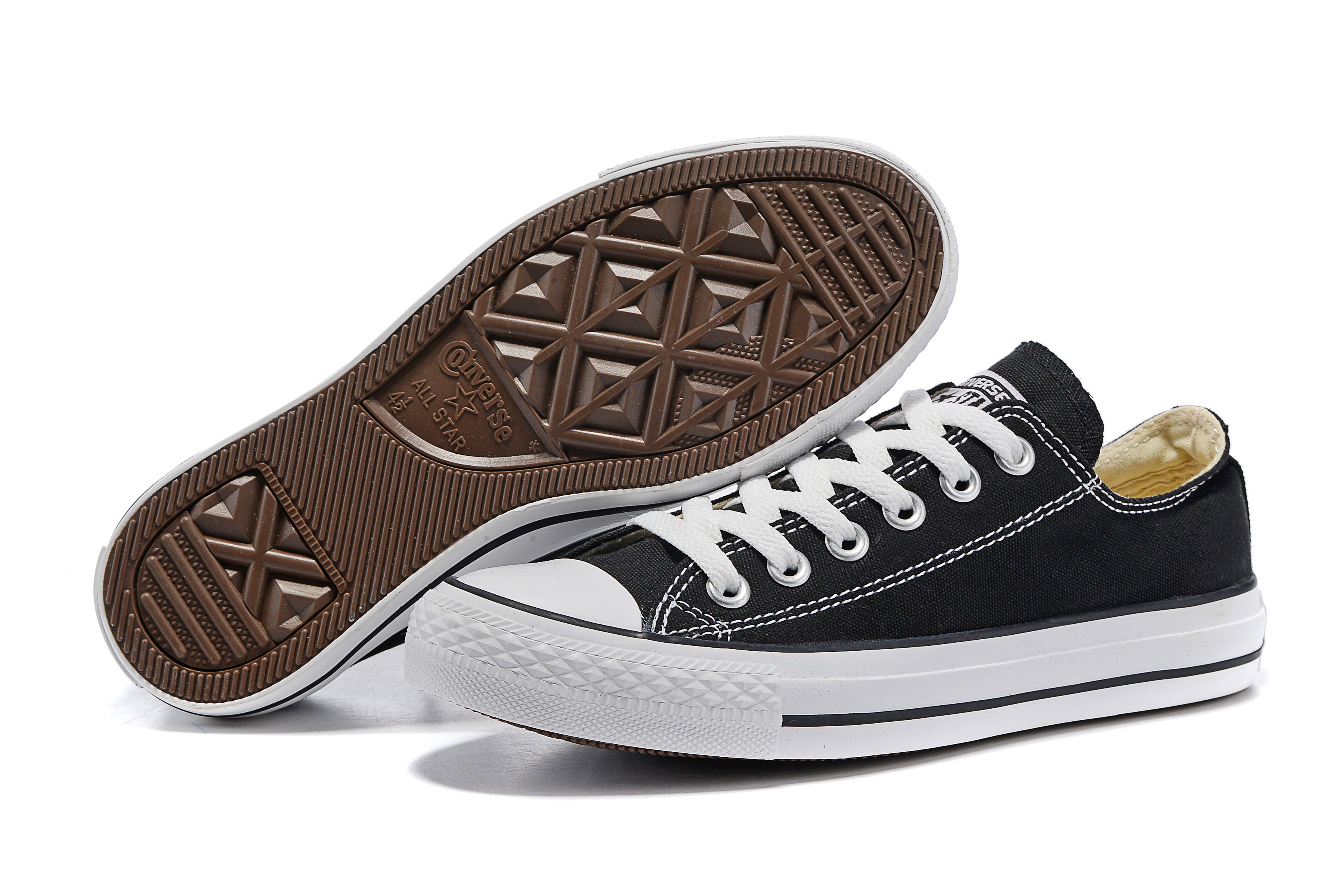 Converse all star classic canvas shoes men's and women's sneakers low Skateboarding Shoes(China)