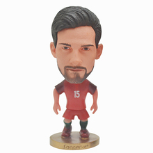 Soccerwe Portugal Football Figure Toys GOMES PEPE 6.5cm Soccer Players Movable Dolls Gift c gomes il guarany