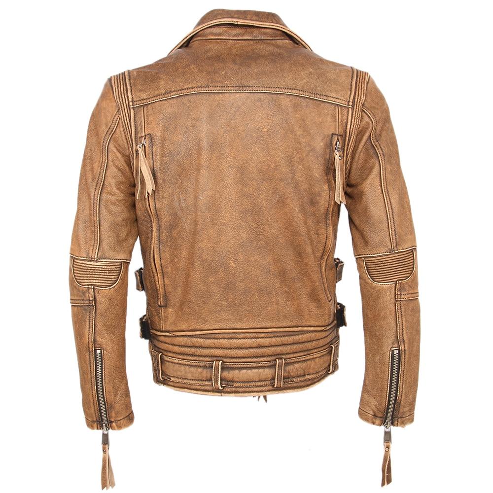 H7cc0746edc2d41cf869b006c60d1dee5C Vintage Motorcycle Jacket Slim Fit Thick Men Leather Jacket 100% Cowhide Moto Biker Jacket Man Leather Coat Winter Warm M455