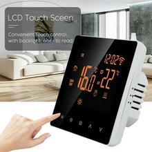 Wireless Thermostat Screen Temperature Controller Electric Smart Underfloor Alea Heating Home Home For Google Program W4P2