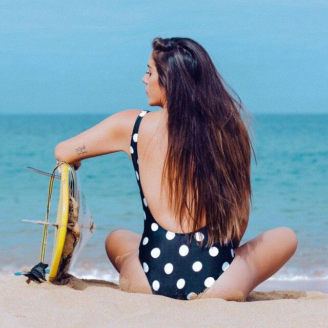 Monokini New Zipper One Piece Women Swimsuit Vintage Bathing Suits Beachwear Print Swim Wear Plus Size Monokini 2021 #T2Q 2