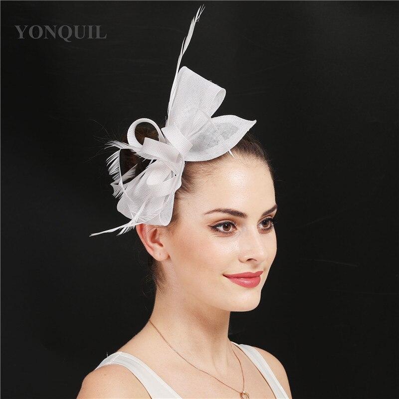 Elegant Formal Dress Ladies Wedding Headwer Bride Fashion Fascinator Headdress Hair Pin Party Women Headdress Hair Accessories
