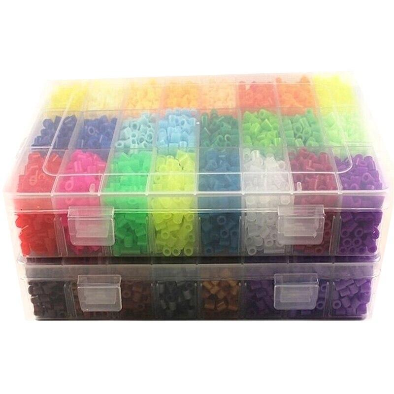 48 cores caixa conjunto hama contas brinquedos 02
