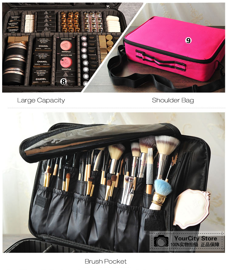 H7cc0c9b266eb4a44a7e7b17fce385442S - Professional Cosmetic Bag | Makeup Case