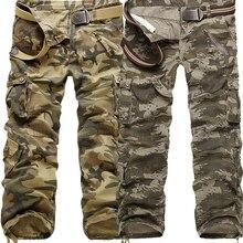 Камуфляжные брюки с водяными волнами военные тактические брюки мужские с несколькими карманами моющийся комбинезон мужские брюки карго для мужчин Размер 28-40