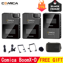 Comica BoomX D 무선 마이크 송신기 키트 미니 마이크 수신기 2.4G Fimi plam/Snoppa vmate 용 디지털