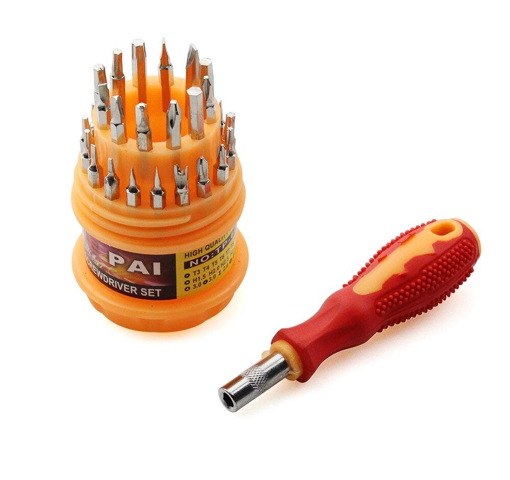 Новый многофункциональный мини-набор магнитных отверток 31 в 1 для всех электронных устройств набор инструментов для ремонта