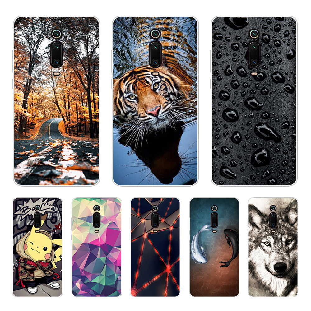 Case For Xiaomi Redmi K20 Mi 9T Case Soft Silicone Phone Back Cover Case For Xiaomi Redmi K20 Pro Mi 9T PRO Coque Fundas Cute