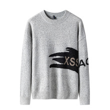 цена Cashmere cotton sweater men autumn winter jersey Jumper Robe hombre pull homme hiver pullover men o-neck Knitted warm sweaters