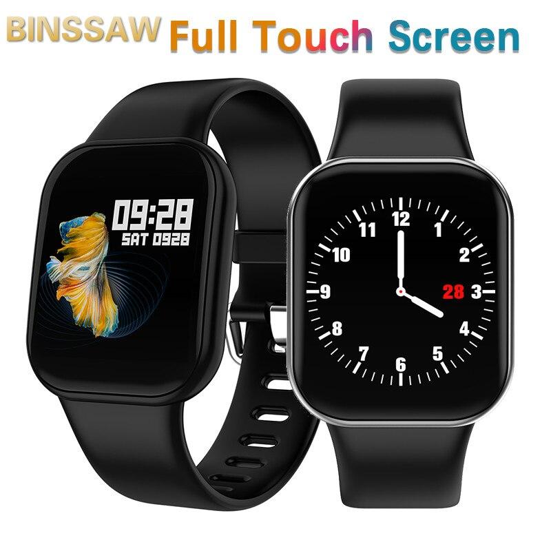 New Smart Watch Men Waterproof Heart Rate Monitor Women Fitness Tracker Wristband Pedometer Full Touch Screen Sports Smartwatch