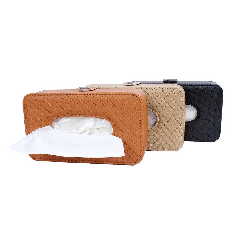 Dull Polish Fiber Sheepskin Car Tissue Box Chair Environmentally Friendly Non-Peculiar Smell Multi-functional Car Decoration Sup