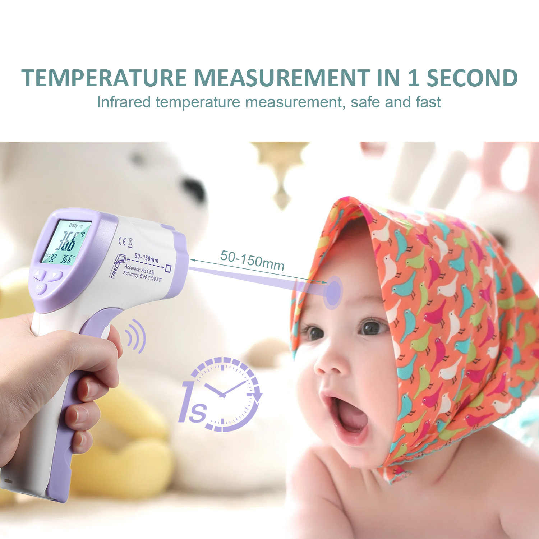 Infrarood Termometro Gun Non-Contact Ir Laser Point Thermische Beeldvorming Temperatuur Draagbare Handheld Pyrometer Digitale Termometro