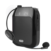 2.4G Big Power 15W Wireless Voice Amplifier Portable For Teaching Lecture Tour Guide Megaphone Microphone Loudspeaker
