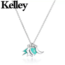 Kelley high quality original Tiff 925 sterling silver necklace Xingyue heart shape brand design ladies fashion luxury jewelry