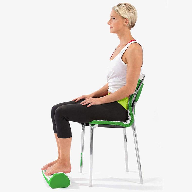 acupressure massage yoga mat pad, acupressure, nbsp, points, more, cushion, pillow, back, neck, relieve, convenient - H7cc291ca11c645d7a419179dda3c7714l - Acupressure Massage Yoga Mat Pad - Fititudestore