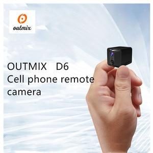 Image 4 - D6 מיני מצלמה 1080p מיקרו חיצוני מצלמה ספורט וידאו HD מצלמה ראיית לילה אלחוטי גוף DVR DV זעיר חיישן תנועה minicamera
