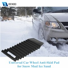 Universal Tragbare Non-Slip & Robust Auto Rad Anti-Skid-Pad Non-Slip Notfall Reifen Traktion Matte platte für Schnee Schlamm Eis Sand