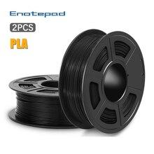 Enotepad PLA Филамент набор 1,75 мм для 3D принтера 100% без пузырьков отличное качество пластик ABS нить для детей Scribble