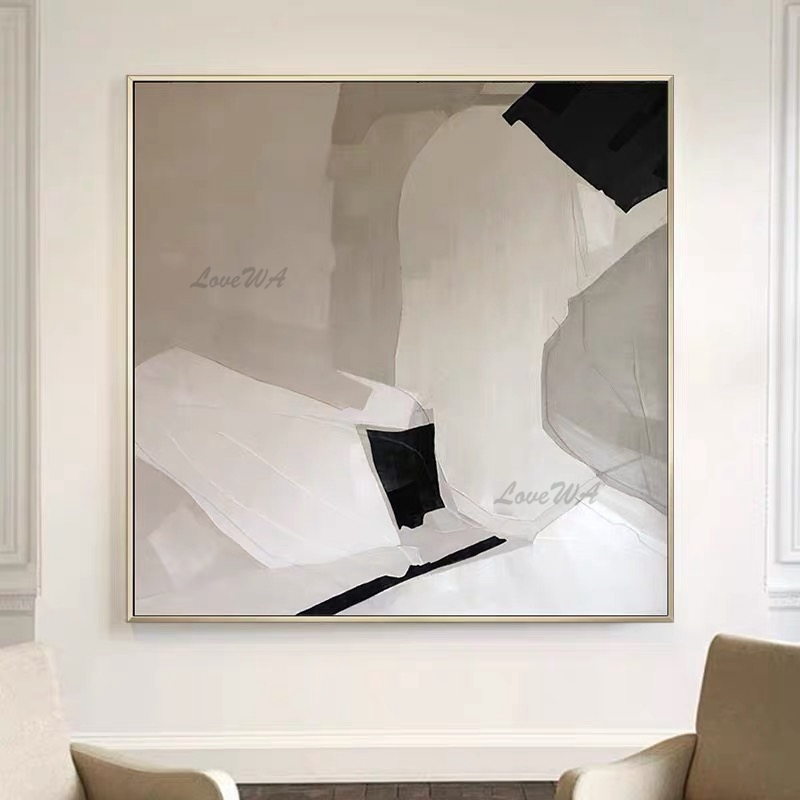Modern Artwork Home Interior Decoration Abstract Art Cheap Unframed Oil Painting Real Hand-painted Canvas Wall Decor Art Picture
