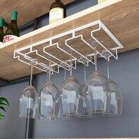 3 ряда/4 ряда железная металлическая Ремесленная вешалка для бокалов винного стекла декоративная стойка для фужеров полка-черный белый