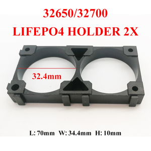 ONIC new 32650 32700 2x 3x lifepo4 Battery Holder Cell Safety Anti Vibration Plastic Brackets For 32650 32700 battery pack