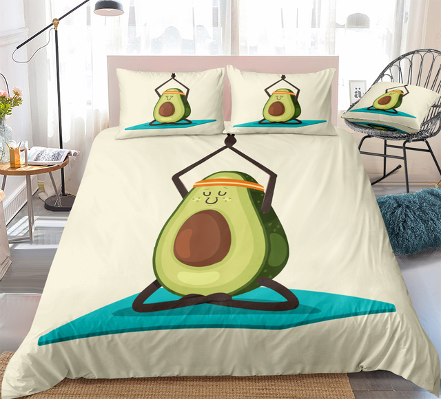 Avocado Bedding Set