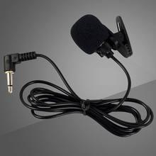 Hot Sale Microphone Wholesale Portable Mini 3.5mm Tie Lapel Lavalier Clip Conference Condenser Single Microphone Studio