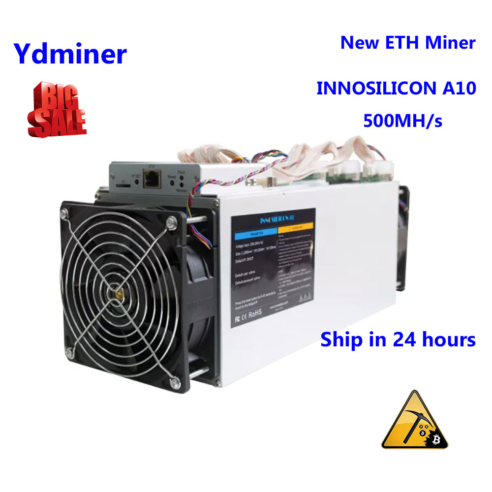 INNOSILICON A10 500M ETH New without power supply miner mining farm ASIC better than GPU RX480 1080ti 1060ti Asik antminer B3 B7 image