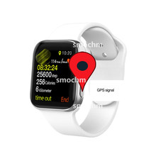 Smochm IWO 10 Bluetooth Montre Intelligente Série 4 1:1 IWO 8 Plus IWO 9 Mise À Jour GPS Tracker Sport Smartwatch Pour Apple iPhone Android(China)