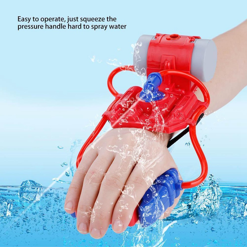 Children Mini Wrist Water Pistol Outdoor Summer Shooter Kids Shooting Child Toys Water Playing Pool Accessories