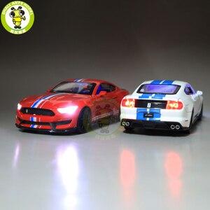 Image 3 - 1/32 Mustang Shelby GT350 Diecast Xe Ô Tô Mô Hình Đồ Chơi Trẻ Em Bé Trai Bé Gái Trẻ Em Quà Tặng