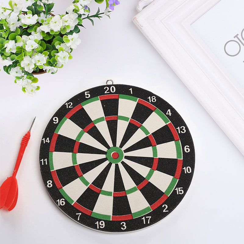 1pcs Darts 20cm Dartboard Target Magnetic Flocking Sport Soft Safety Durable