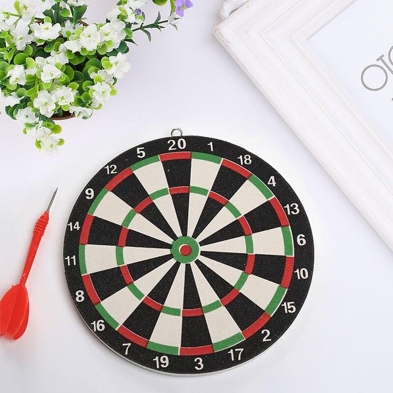 1pcs Darts 20cm Dartboard Target Magnetic Flocking Sport Soft Safety Durable