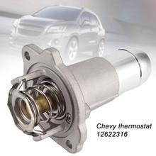12622316 термостат в сборке автомобиля Антикоррозийная износостойкость Высокая герметизация двигателя охлаждающей жидкости замена металла для Chevy Colorado