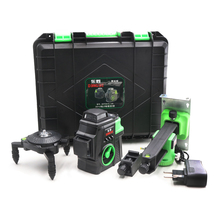 2020 New Professional 12 Line 3D laser level Japan Sharp green 515NM Beam 360 Vertical And Horizontal Self-leveling Cross