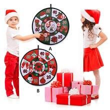 Забавные рождественские Дартс настольные игры игрушки настенные