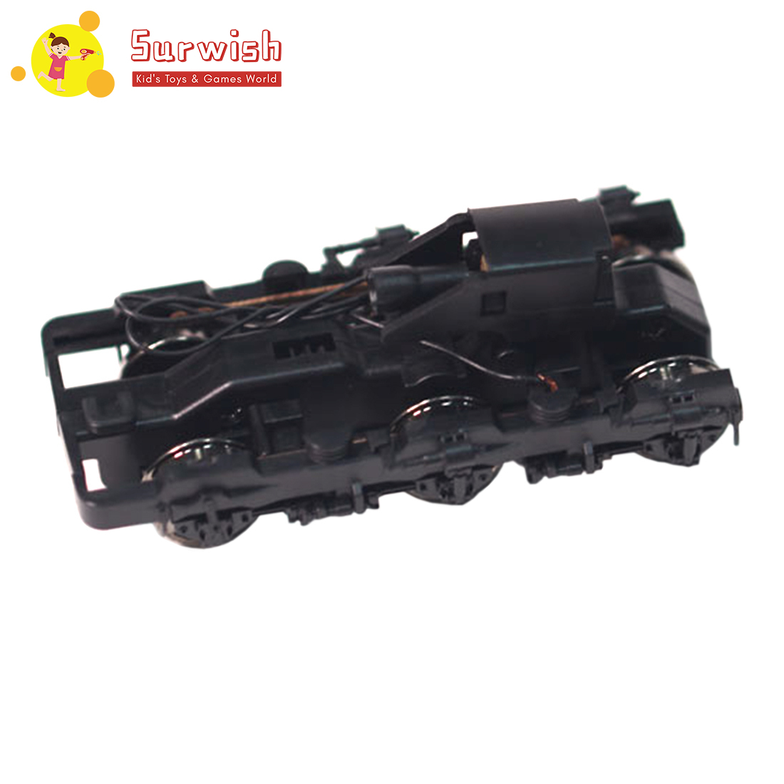 Surwish 2.8 X 6.8cm 1:87 Ho Scale Railway Layou Undercarriage Bogie For Most Ho Scale Model Train Model Building Kits Hot