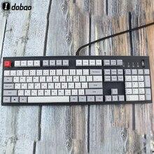 Japon kök XDA Keycaps mekanik klavye için 104 japonya yazı dil boya alt tuş PBT Gh60 Xd60 Tada68 87 96 standard104
