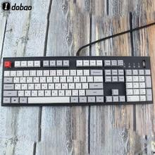 Колпачки для клавиатуры XDA, японские колпачки для механической клавиатуры 104, японские колпачки для чернил и языков шрифта PBT Gh60 Xd60 Tada68 87 96, стандартные 104
